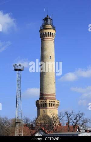 Lighthouse Swinemünde - Stock Photo