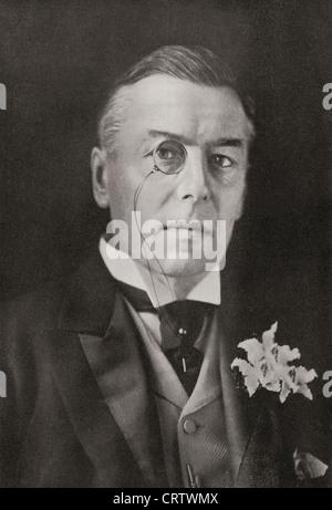 Joseph Chamberlain, 1836 – 1914. British politician and statesman. From The Year 1914 Illustrated. - Stock Photo