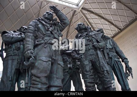 Bomber Command Memorial, London - Stock Photo