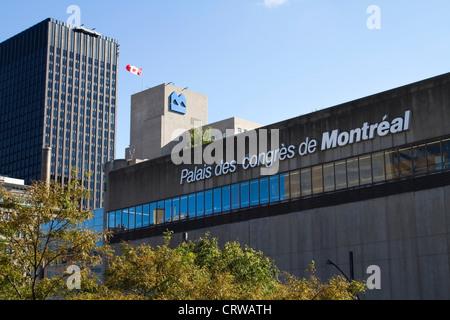 Palais des congrès de Montreal, Quebec - Stock Photo
