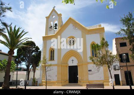 Iglesia de San Clemente, San Clemente, Menorca, Balearic Islands, Spain - Stock Photo