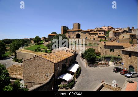 italy, lazio, tuscania - Stock Photo