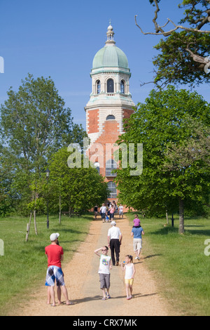 Netley Hospital chapel in the Royal Victoria Country Park, Hampshire - Stock Photo