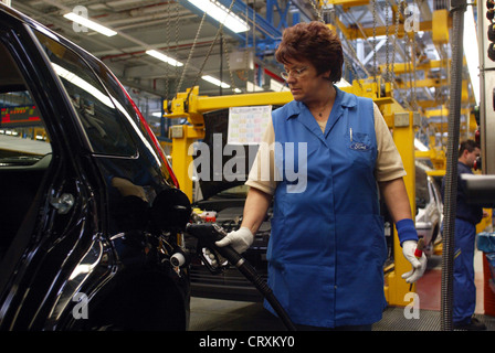 Car production at Ford in Cologne - Stock Photo