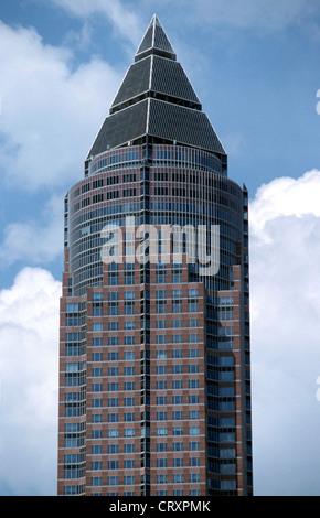 Frankfurt Messeturm - Stock Photo