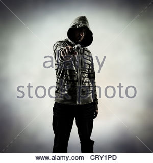 gang crime - Stock Photo