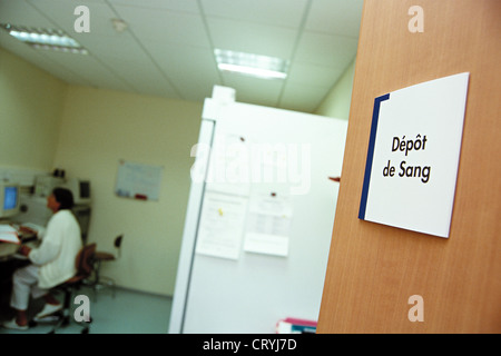 BLODD STOCK - Stock Photo