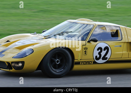 1960s ford gt40 race car right hand drive interior and dashboard at stock photo 132906606 alamy. Black Bedroom Furniture Sets. Home Design Ideas