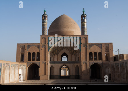 Agha-Bozorg mosque , Kashan, Isfahan Province, Iran - Stock Photo