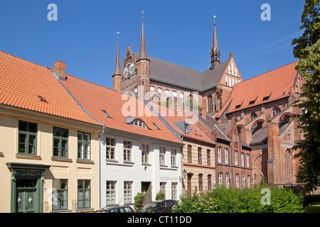 Georgen Church, Wismar, Mecklenburg-West Pomerania, Germany - Stock Photo