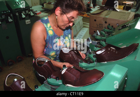 waldi shoe factory production of finn comfort shoes stock photo 49195757 alamy. Black Bedroom Furniture Sets. Home Design Ideas