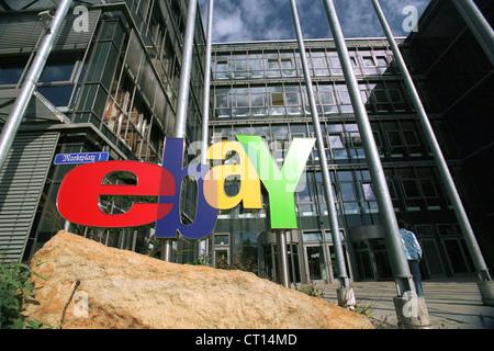 ebay headquarters in europarc dreilinden in berlin stock photo 49196893 alamy. Black Bedroom Furniture Sets. Home Design Ideas