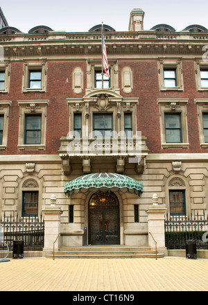 Andrew Carnegie Mansion / Cooper-Hewitt National Design Museum in Manhattan, New York, USA. - Stock Photo