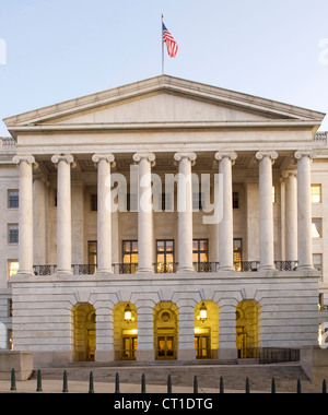 Charming Longworth House Office Building In Washington DC, USA.   Stock Photo