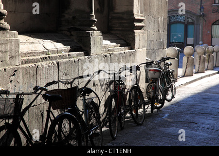 Lucca street, Italy - Stock Photo