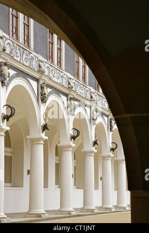 residenzschloss stallhof dresden saxony germany stock photo royalty free image 74482346 alamy. Black Bedroom Furniture Sets. Home Design Ideas