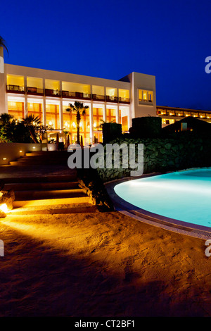 Lanzarote, Hotel Hesperia - Puerto Calero, Lanzarote, Canary Islands, Spain, Europe - Stock Photo