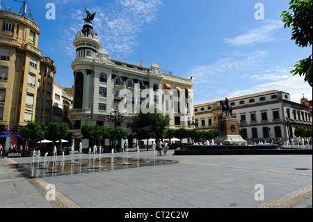 Plaza de las Tendilla ,Córdoba - Stock Photo