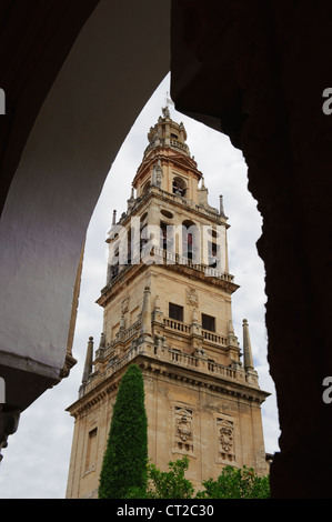 Mezquita's belfry, Cordoba, Spain - Stock Photo