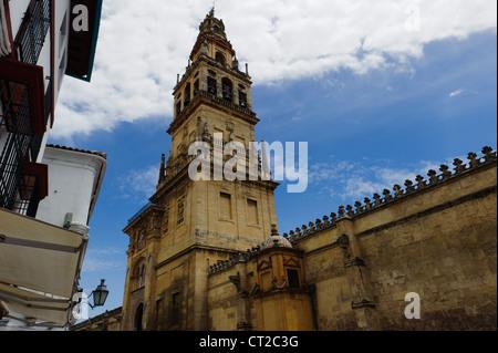 Mezquita's belfry, Cordoba, Spain - Stock Photo