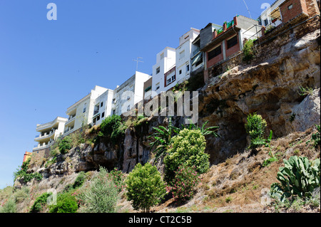 Hanging Houses of Hornachuelos - Stock Photo