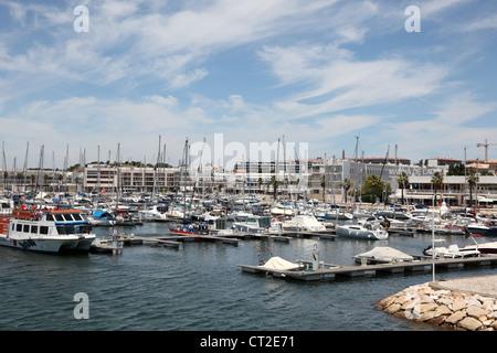Marina of Lagos, Algarve Portugal - Stock Photo