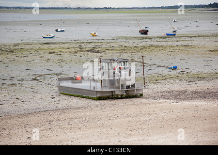 Amphibious vehicle, Cancale, Brittany, France - Stock Photo