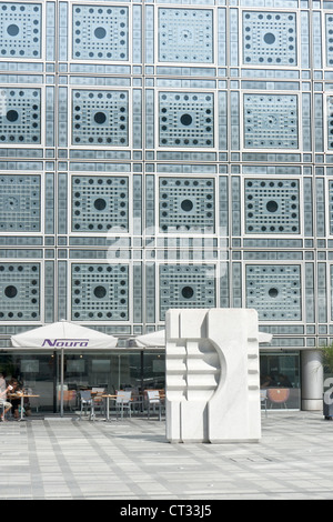 Institut du Monde Arabe - Stock Photo