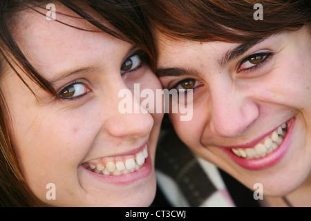PORTRAIT OF ADOLESCENT GIRL - Stock Photo