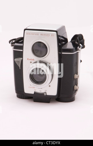 Kodak Brownie Reflex 20 Camera - Stock Photo