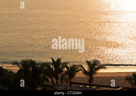 Beach in island of Cabo, Luanda Angola - Stock Photo