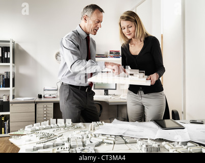 Business people working in office - Stock Photo