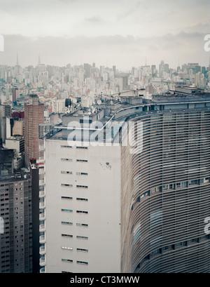 Aerial view of Rio de Janeiro - Stock Photo