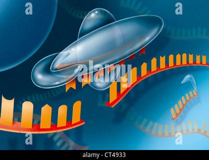 RNA INTERFERENCE - Stock Photo