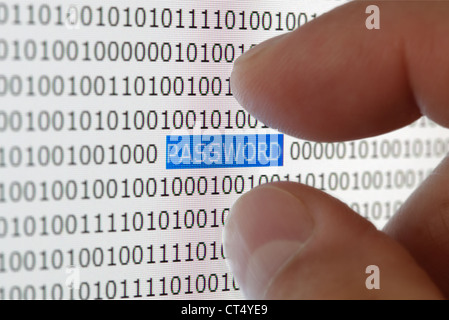 Password security - Stock Photo