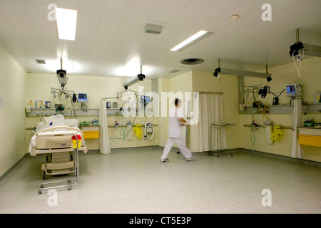 OBSERVATION WARD - Stock Photo