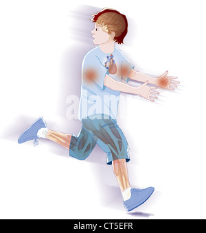 STRESS, ARTWORK - Stock Photo
