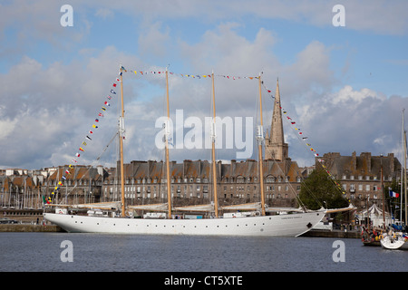 Santa Maria Manuela, Tall ships race 1, St Malo, France 2012 - Stock Photo