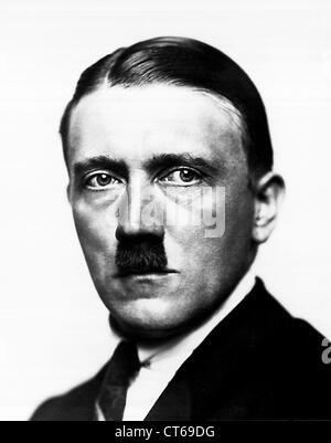Portrait of Adolf Hitler - Stock Photo