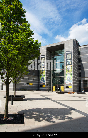 Royal Armouries Museum in Armouries Square Leeds West Yorkshire UK - Stock Photo