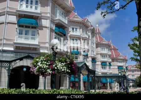Disneyland Park Hotel in Disneyland, Paris, France - Stock Photo