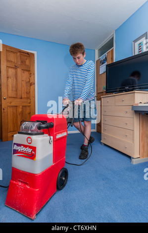 Rug Doctor Carpet Cleaner A Boy Cleaning His