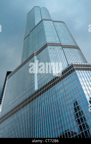 Trump Tower, Chicago, Illinois - Stock Photo