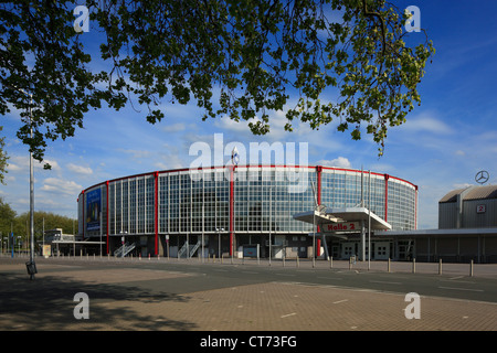 D-Dortmund, Ruhr area, Westphalia, North Rhine-Westphalia, NRW, Westfalenhallen Dortmund, Halls of Westphalia, exhibition - Stock Photo