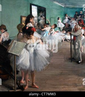 The Dance Class 1874 Edgar Degas 1834-1917 France French - Stock Photo