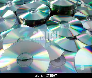 CD-mountain - Stock Photo