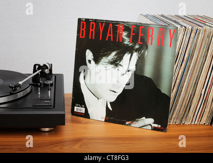 Boys and Girls is Bryan Ferry's sixth solo album, released in 1985 by EG Records. - Stock Photo