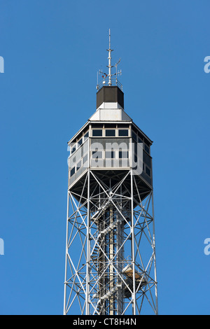 Branca Tower in Sempione Park, Milan, Italy, Europe - Stock Photo