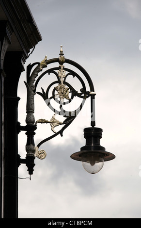 Victorian Lamp on the Octagon Concert Hall in Buxtons Pavilion Gardens