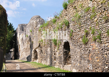 Reading Abbey Ruins, Reading, Berkshire, England, United Kingdom - Stock Photo